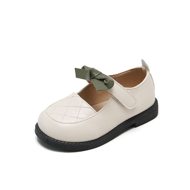 Boys and Girls Leather Shoes 2021 New Small Single Shoes Children's College Bow Princess Shoes Japanese British Style Flats