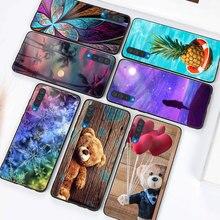 Pour Samsung Galaxy A50 A10 A20 A30 A40 A20e A70 A51 A71 Téléphone Coque Étui Lumineux Boîtier Brillant