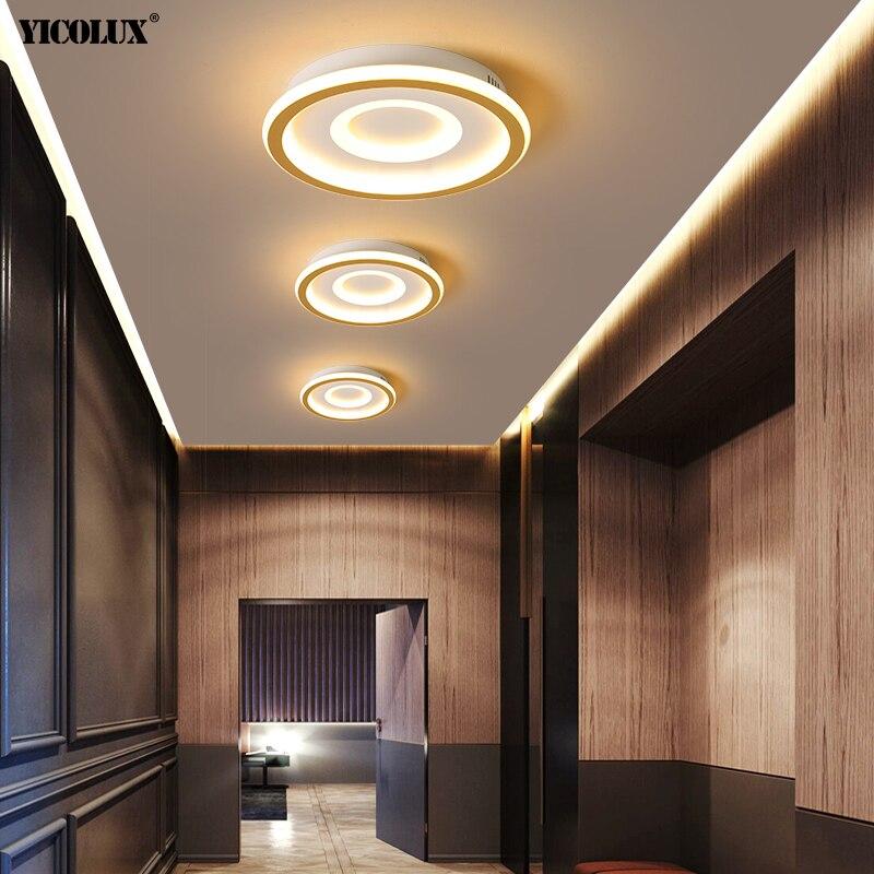 مصباح سقف LED مربع أو دائري مع جهاز تحكم عن بعد ، تصميم حديث ، إضاءة زخرفية داخلية ، مثالي لغرفة النوم أو غرفة المعيشة أو المدخل أو الحمام.