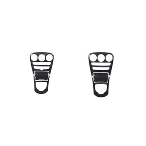 For Mercedes-Benz C-Class W205 GLC X253 Center Console Panel Sticker