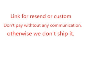 Cutsom or Resend Link