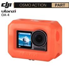 Ulanzi OA-4 Floaty Fall Gehäuse für Dji Osmo Action Schwimm Orange Venture Shell Fall für Surfen Skating