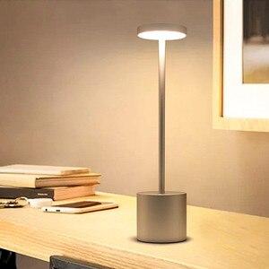 Thrisdar Creative Restaurant KTV Cafe Table Lamp Touch Sensor Bar Bedroom Bedside Reading Table Desk Lamp Warm White Night Light