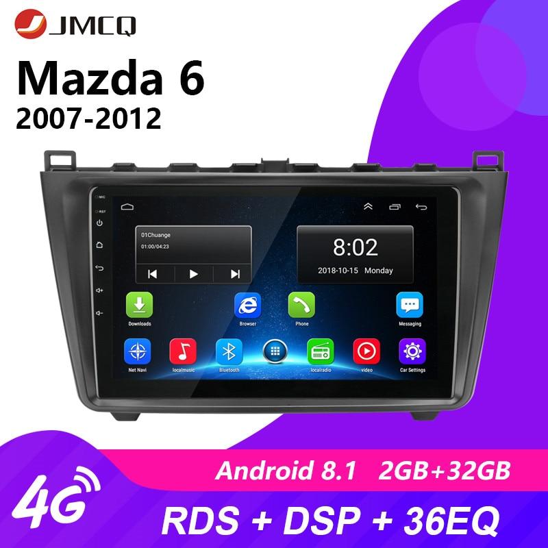 "JMCQ 9"" Android 8.1 2DIN Car Radio Audio GPS Multimedia Player For Mazda 6 Rui wing 2007-2012 Stereo Car Radio GPS Navigation"