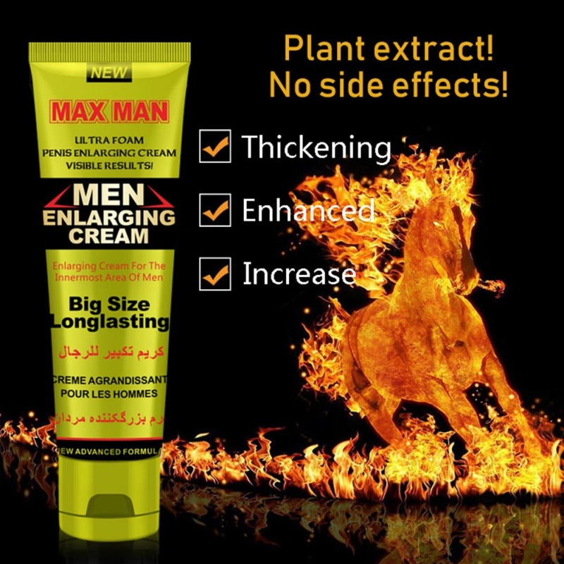 Men's Massage Cream Penis Becomes Longer And Thicker Penis Enhancement Cream Sex Products