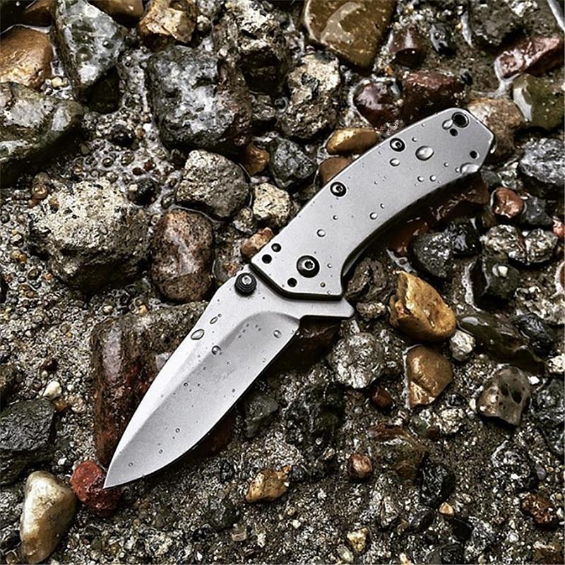 Eafengrow Kershaw 1555TI складной нож 8Cr13MoV сталь титановое покрытие Флиппер для улицы/кемпинга/выживания/пешего туризма/фруктов