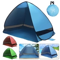 beach tent ultralight folding tent pop up automatic open tent family tourist fish outdoor camping anti uv fully sun shade tent