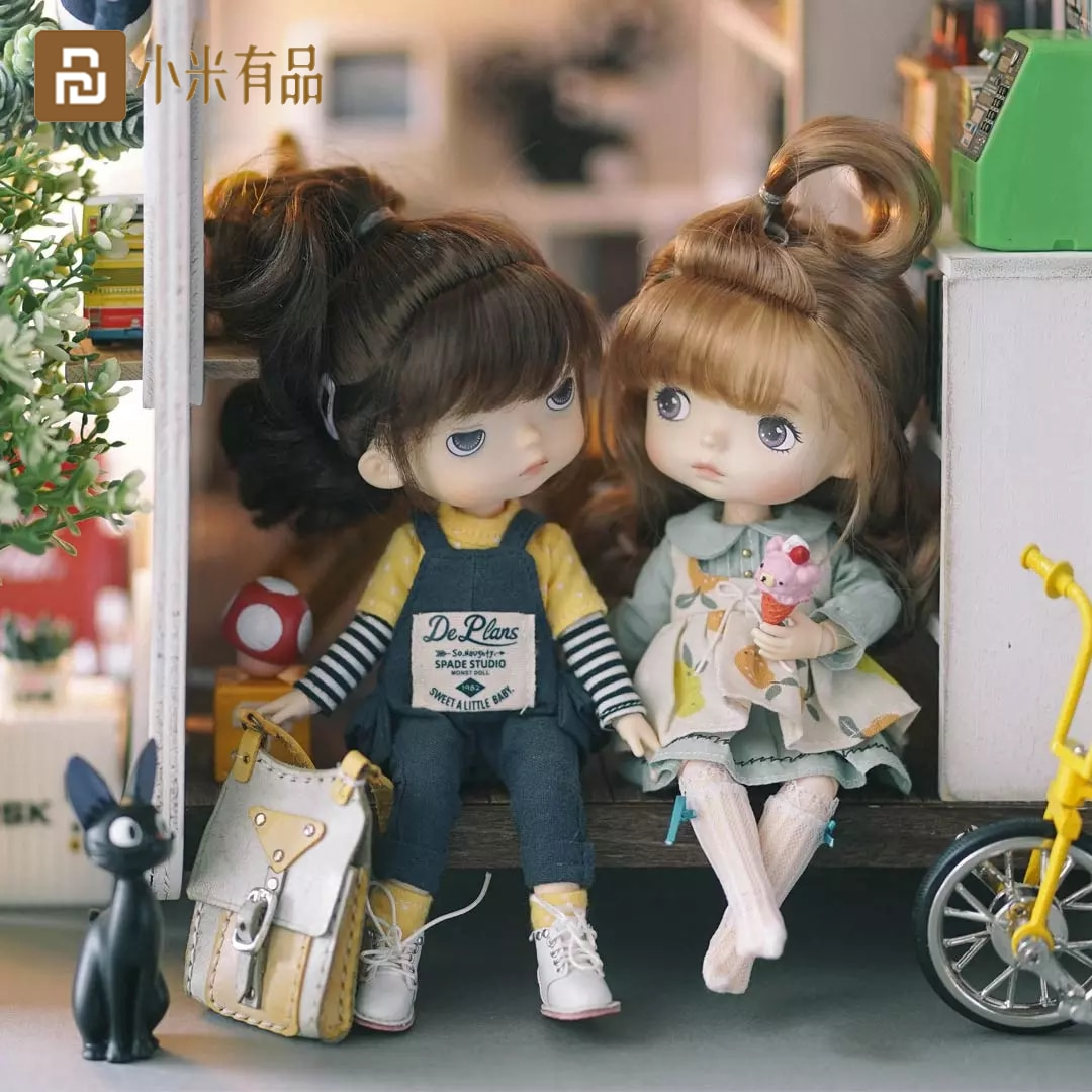Xiaomi Monst Savage Baby Rubber Dolls Height 20 Centimeters Cabinet Delicate Childlike Innocence Lov