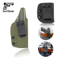 gunflower inside the waistband army green kydex holder 9mm magazine single mag pouches fit cz 75 p07