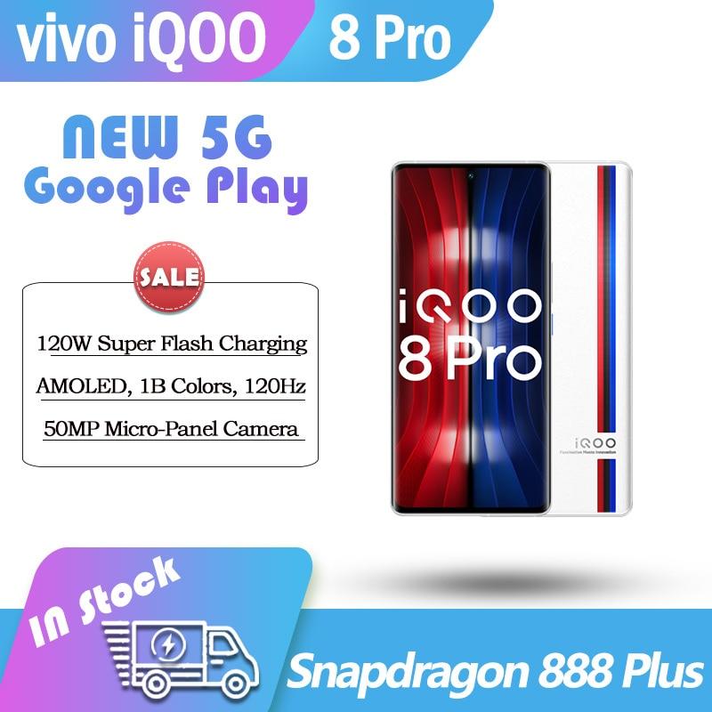 Смартфон vivo iQOO 8 Pro 5 GSnapdragon 888 Plus, 120 Вт, AMOLED, 120 Гц, NFC, 50 МП