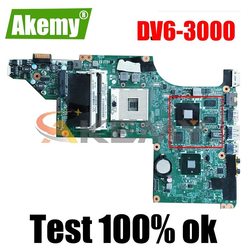 615279-001 630279-001 ل HP بافيليون DV6T DV6 DV6-3000 المحمول اللوحة إنتل ddr3 مع ATI بطاقة الرسومات اللوحة الرئيسية CPU الحرة