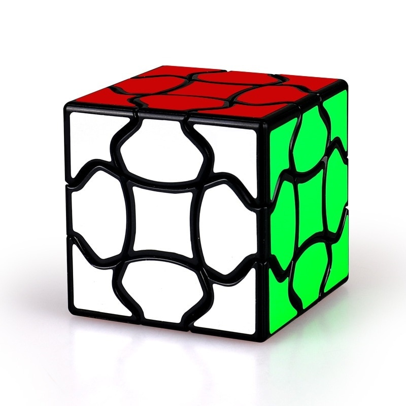 new 3x3 torsion magic cube magnetique coloful twisted cube puzzle toy stickerless puzzles colorful educational toy bandaged cube Magic Cube Magnetique Fancy Puzzle Cubes bandaged Early Education Toy Intelligence Cube Speed Cube Stress Reliever Toys Neo Cube