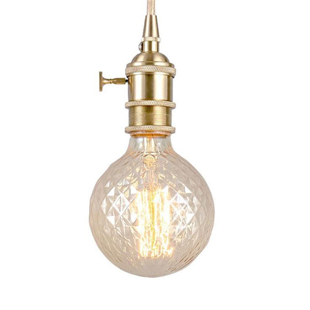 Ретро светильник Эдисона лампа E27 G95 винтовая нить накаливания лампы ампулы винтажная лампа Эдисона для домашнего декора антикварный свети...