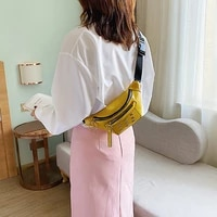 womens waist bag fashion rivet leather chest bag lady luxury designer belt packs brand shoulder bags wallet famale fanny pack