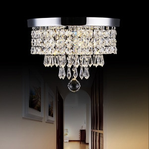 LED crystal chandelier ceiling lamp corridor lamp kitchen bedroom guest lamp device home decoration balcony lamp  LB32708