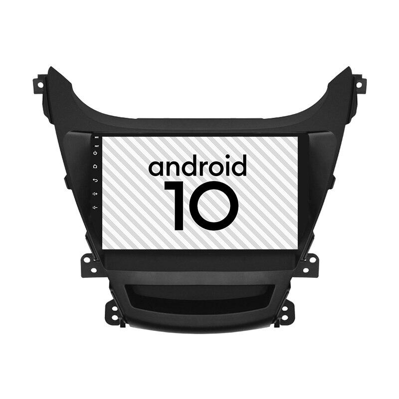 Car Android 10.0 gps 2.5D explosion-proof screen for HYUNDAI 2014 2016 Elantra radio Player Bluetooth Internet car navigation