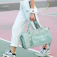 gym bag women training sport bag for women fitness yoga bag dry and wet separation sac de sport femme travel handbag