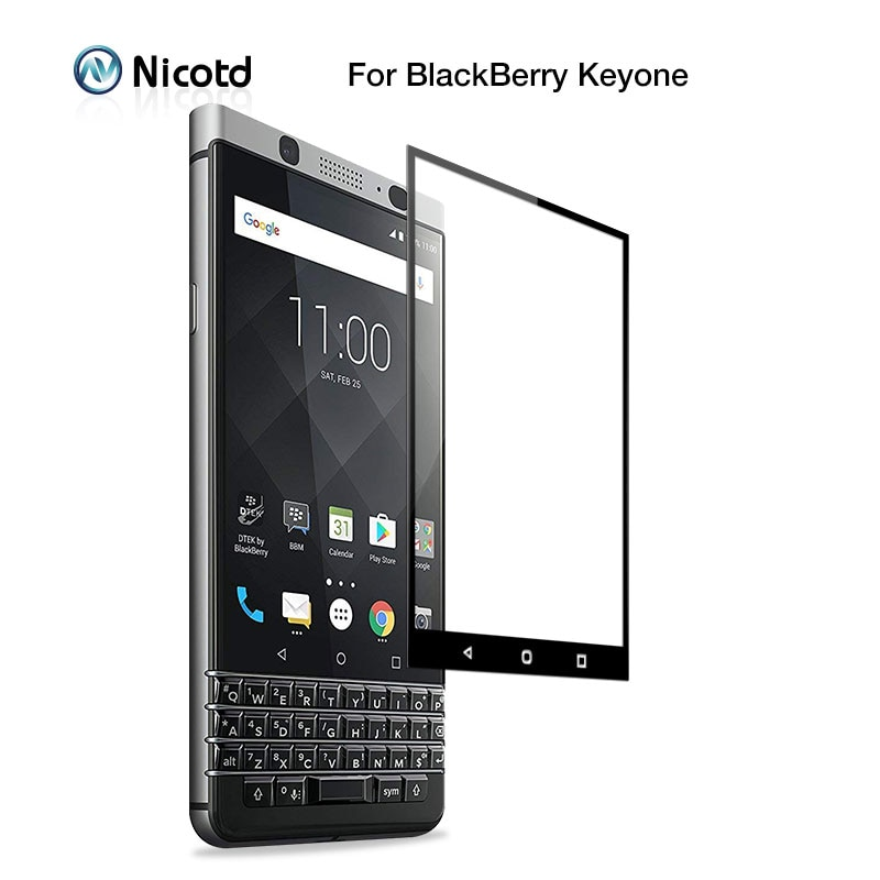 2 шт Полное Защитное стекло для Blackberry Keyone 9H закаленное стекло для Blackberry Key2 Защитная пленка для экрана