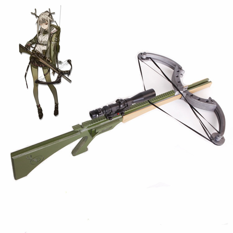 90CM Arknights Firewatch ballesta y flecha accesorio de PVC para Cosplay arma Halloween carnaval fiesta de lujo Props Comic Show eventos