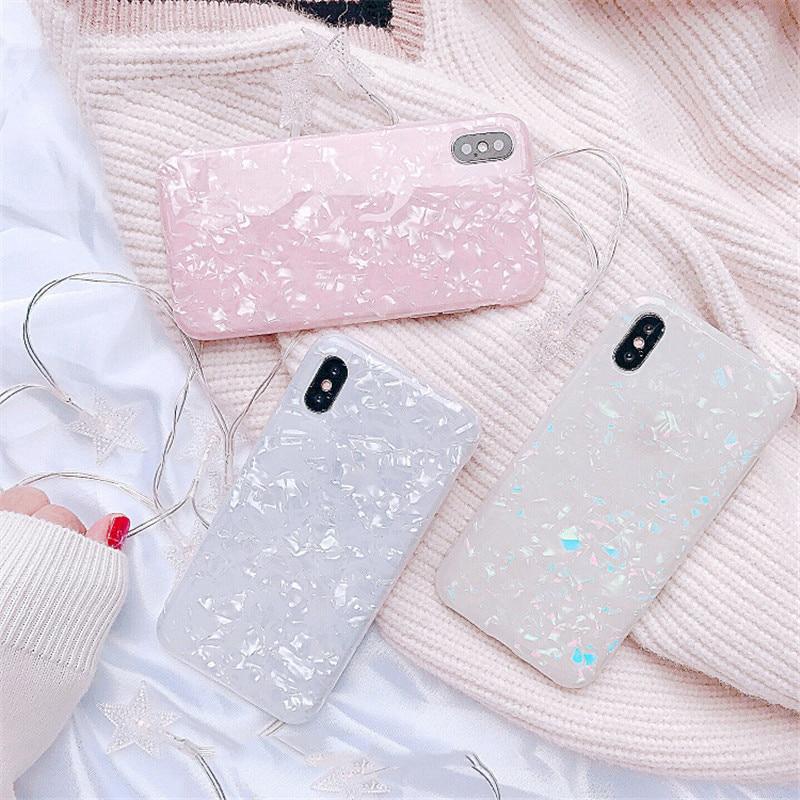 Marmor Telefon Fall Für Samsung Galaxy S10 lite S7 S7 rand hinweis 10 8 9 10pro M10 M20 luxus Traum fällen Weiche TPU Silikon coque
