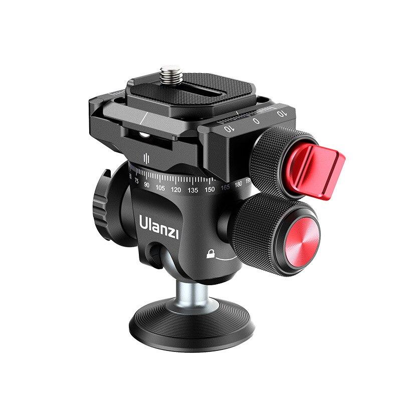 Ulanzi U-120 رئيس مقلوب كاميرا ترايبود 360 درجة الدورية تعديل رئيس الملحقات