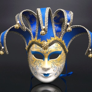 New Italy Venice Full Face Anti-Ancient The Mask Festival Party Christma Masquerade Carnival Facial Mask Halloween Cospaly Masks