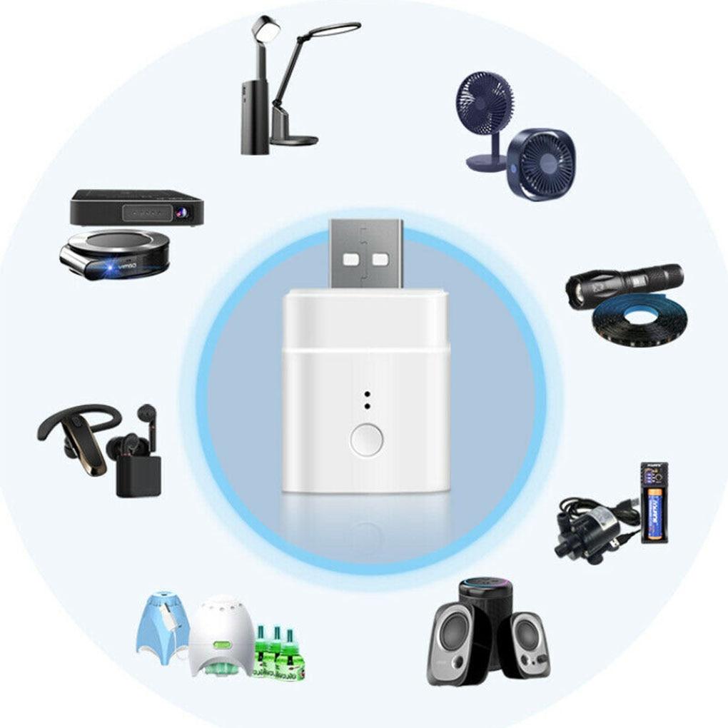 Adaptador inteligente SONOFF Wifi USB Micro 5V, adaptador de Carga inteligente inalámbrico, cargador Wifi con sincronización USB portátil para tableta y teléfono
