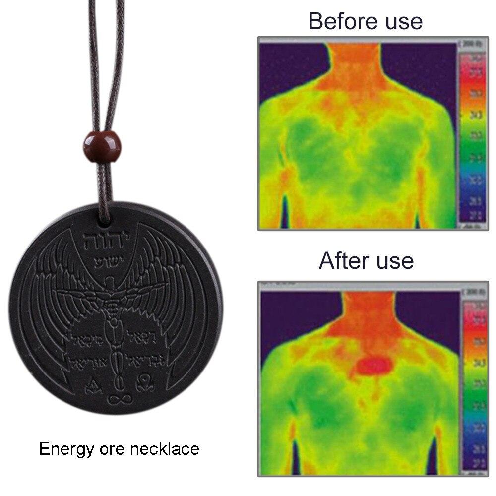 Anti EMF Radiation Protection Quantum Pendant Energy Necklace Scalar Women Men Quantum Magnetic Fiel