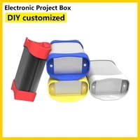 project box electrical enclosure cutting customization k01b 7035mm diy pcb housing enclosure for electronic