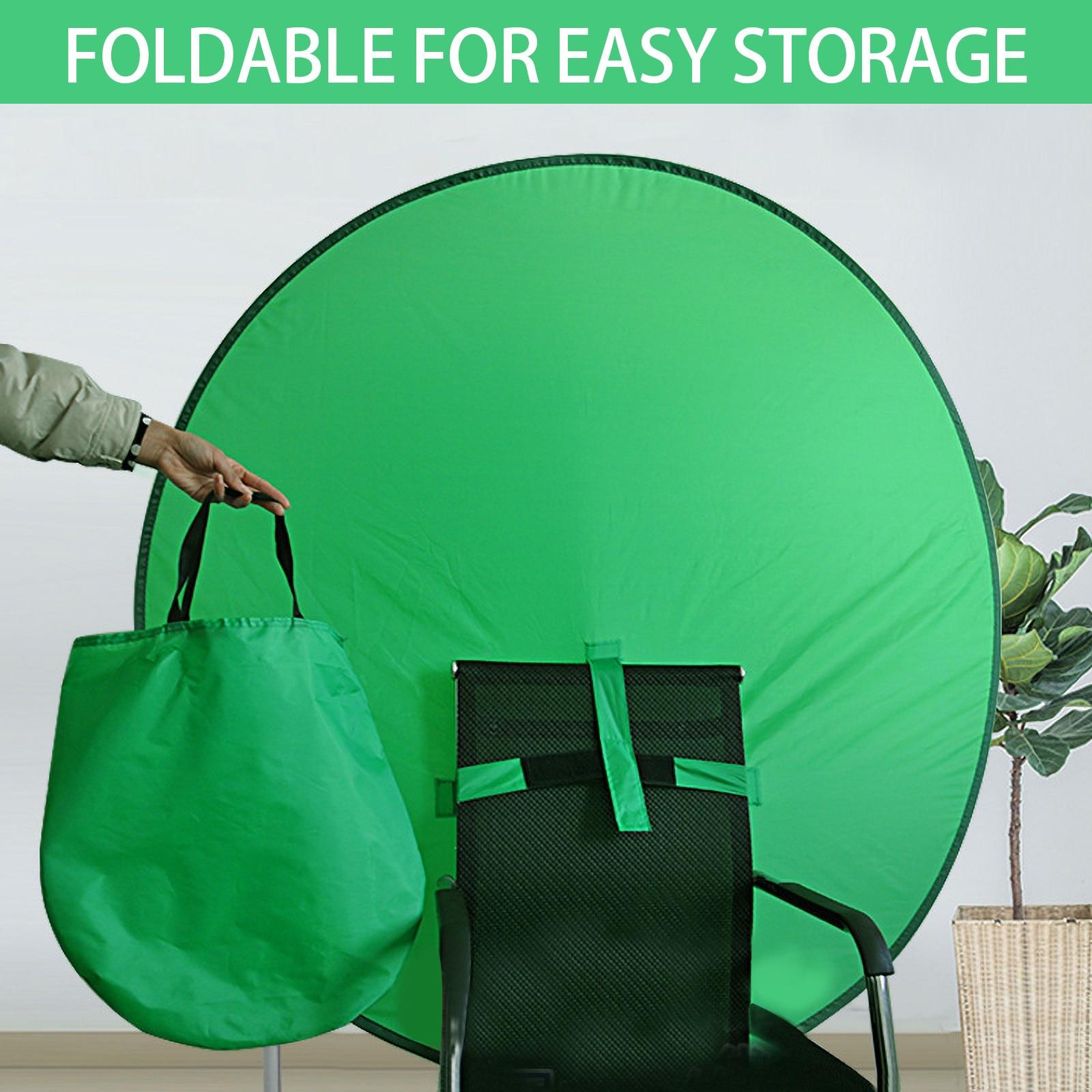 Azul grande de fondo verde portátil para estudio de vídeo y fotografía,...