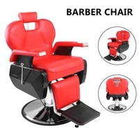 professional high quality soft salon barber chair 8702a red hairdressing tools accessories barber chair hairdressing tools
