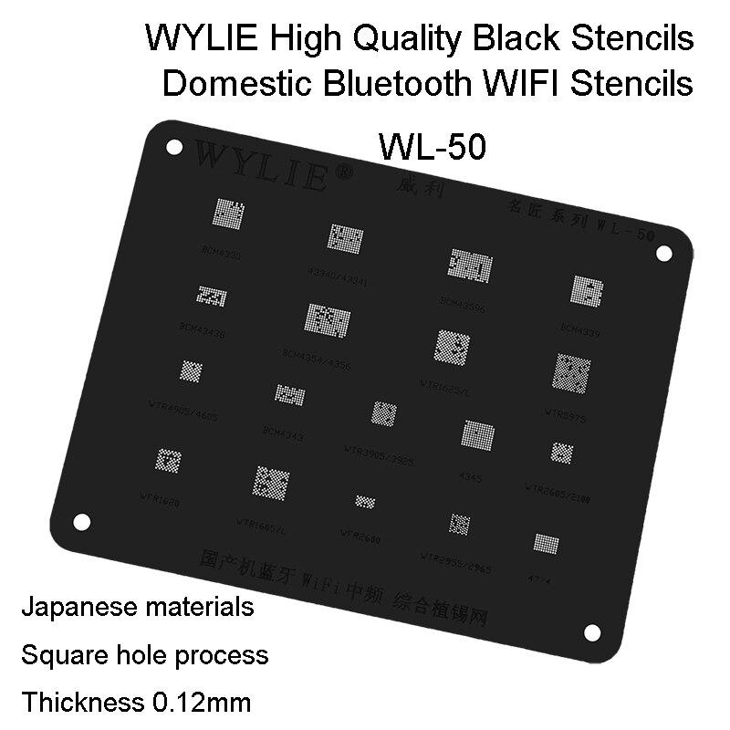 WL-50 BCM4774 WTR2955 WTR2965 WFR2600 WTR1605 WFR1620 WTR4905 WTR4605 BCM4343 WTR3905 WTR3925 wifi IC чип BGA реболлинг трафарет