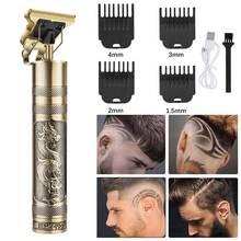 Tondeuse cheveux homme spécial tondeuse cheveux salon de coiffure outil de coiffure professionnel chauve Portable rasoir à faire soi-même