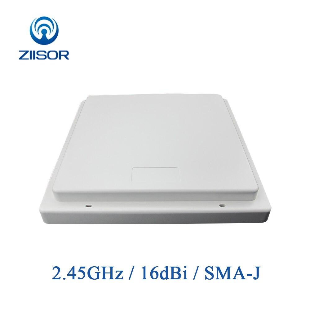 Antena Wifi de 2,4 GHz, 16dBi de alta ganancia, Panel de 2,4G, antenas direccionales para Internet, antena wifi de largo alcance TX2400-PB-2222