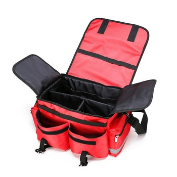 Professional Multiple Medical Bag Empty First Aid Kit Emergency Bag Medical Supplies for Outdoor Camping Large Size Nylon