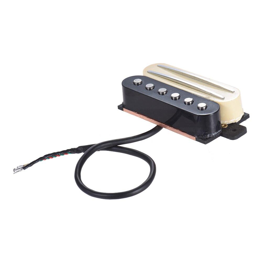 Guitarra Eléctrica puente de doble raíl Humbucker Humbucking y recogida de una sola bobina para ST para el iPhone de RGB Les Paul