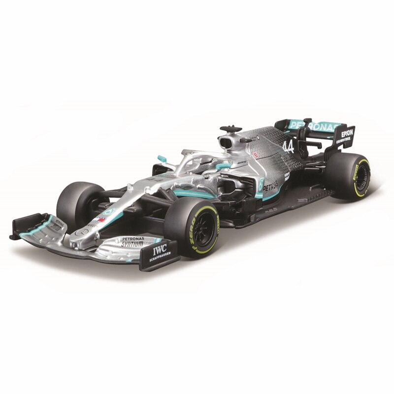 Bburago 1:43 2019-نموذج سيارة مرسيدس F1 W10 EQ, قوة + 2019 #44 لويس هاميلتون ، فاخرة ، مصنوعة من السبائك ، ألعاب ، هدية