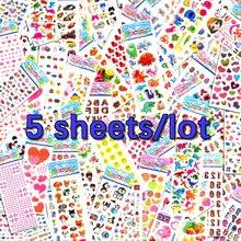 5 feuilles Lot Scrapbooking bulle bagages autocollants pour ordinateurs portables cadeaux mignons jouets enseignant récompense enfants enfants usine vente directe m5
