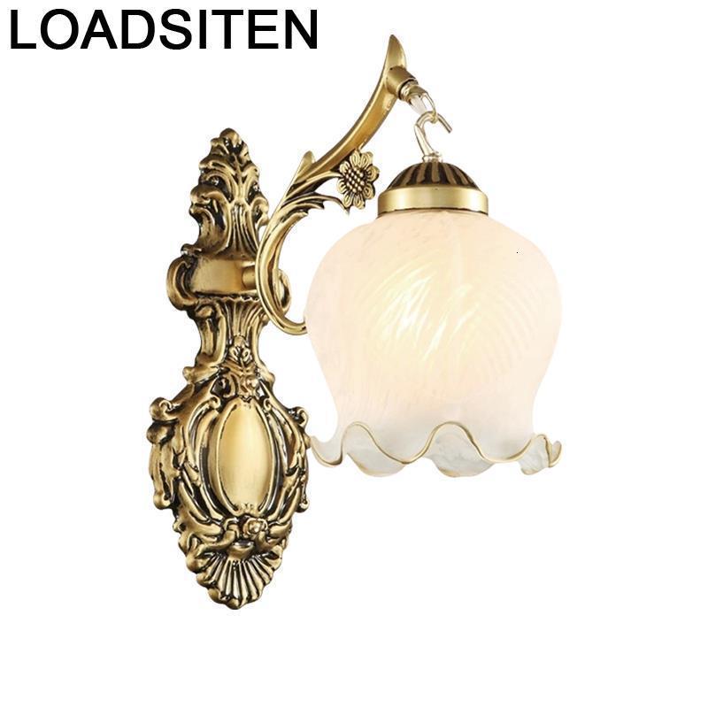De Lit Bathroom Lampen Modern Lampara Vintage Lamp Badkamer Verlichting Wandlamp Luminaire Aplique Luz Pared Wall Bedroom Light