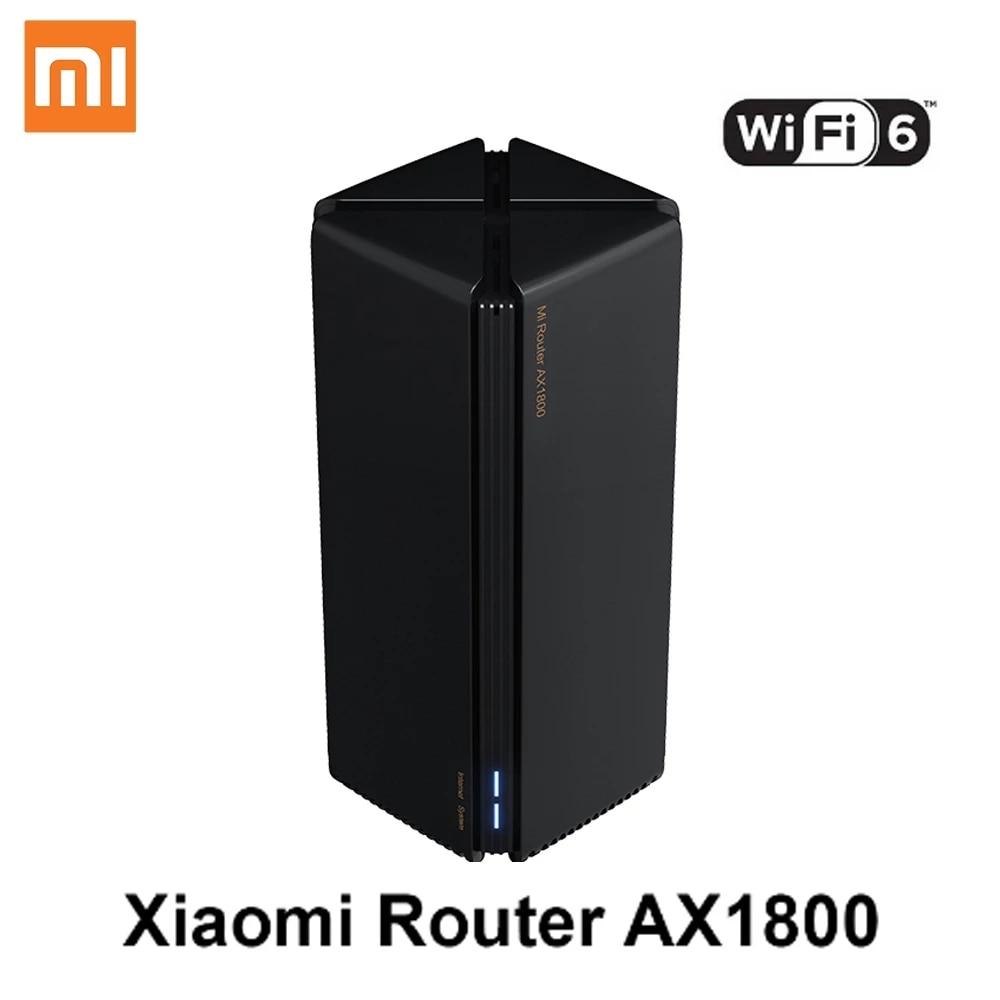 Xiaomi Mi AX1800 Wireless Router Mesh WIFI 6 VPN Dual-Frequency 256MB 2.4G 5G Full Gigabit OFDMA Repeater Signal Amplifier PPPoE