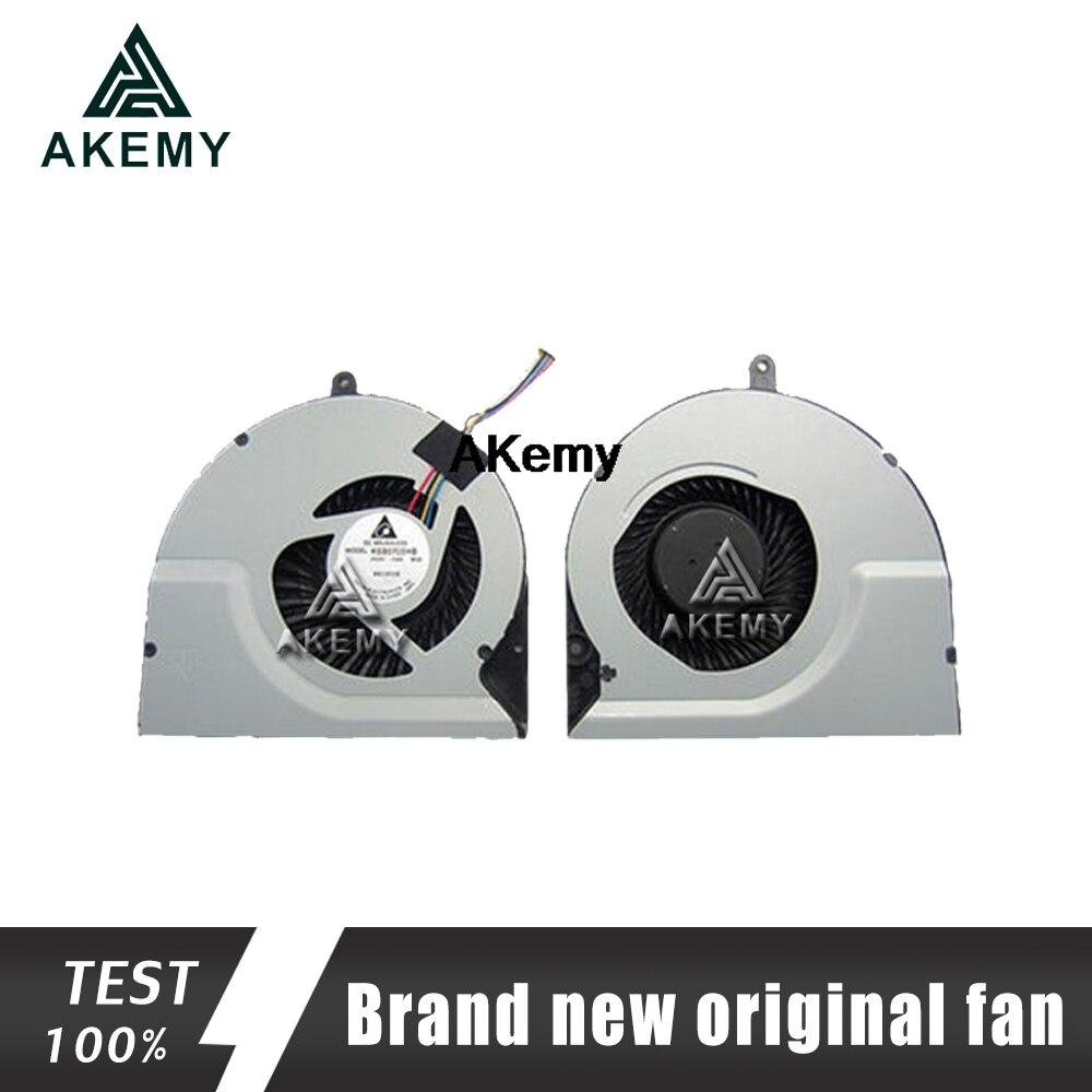 Akemy Originais Ventilador de Refrigeração da Cpu Para ASUS N56DP N56DY N56V N56VZ N56VM N56VJ N56VV N56VB N56JR N56JN N56JK Notebook Cooler Laptop