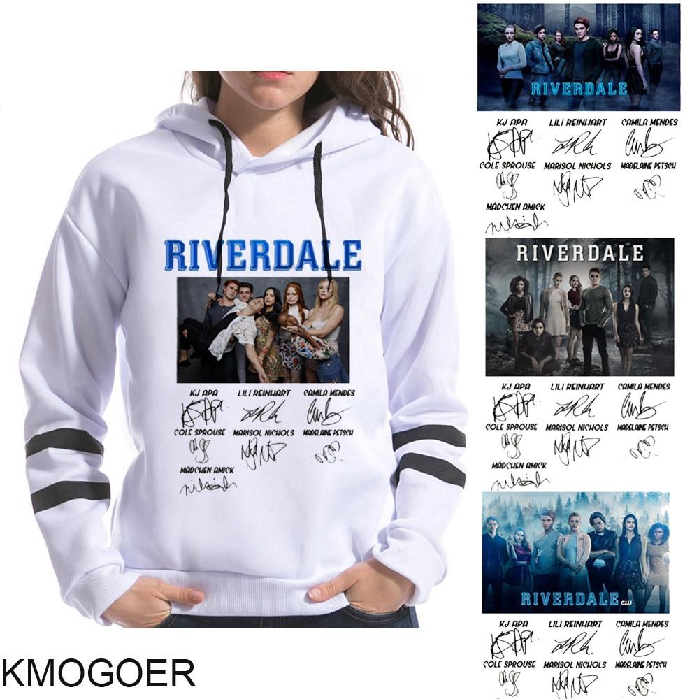Riverdale assinatura moletom série tv sweatshirts femininas snake menina hip hop streetwear harajuku hoodies lazer sudadera mujer