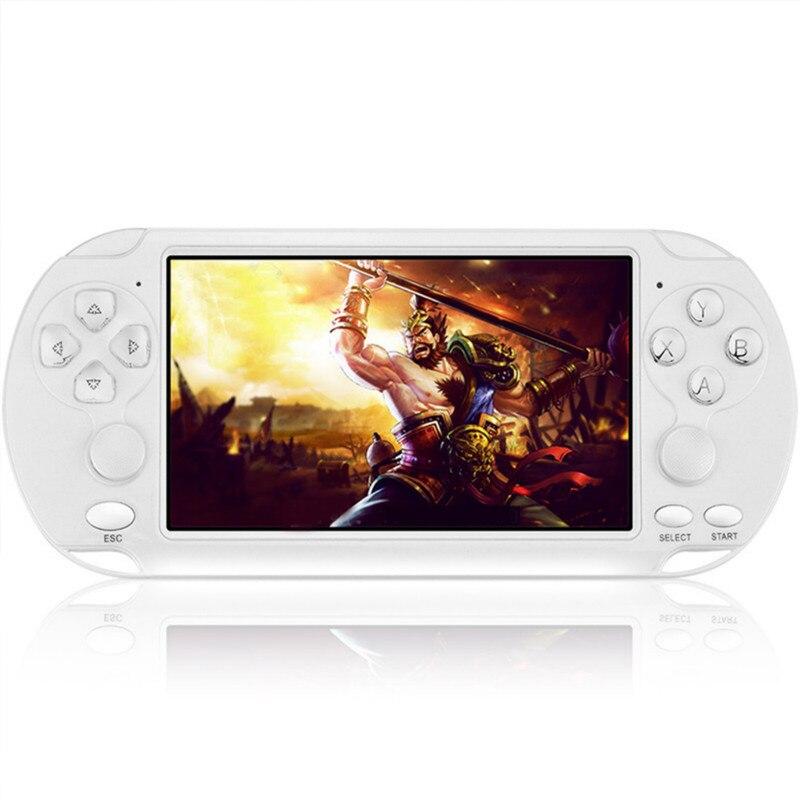 Consola de videojuegos Retro portátil reproductor de Juegos Portatil Jogos 5,1 3D sonido envolvente videojuegos Consola de Videojuego Juegos