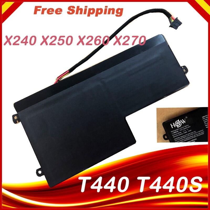 Batería interna nueva de 11,1 V 24Wh para Lenovo ThinkPad T440 T440S T450 T450S X240 X250 X260 X270 45N1110 45N1111 45N1112