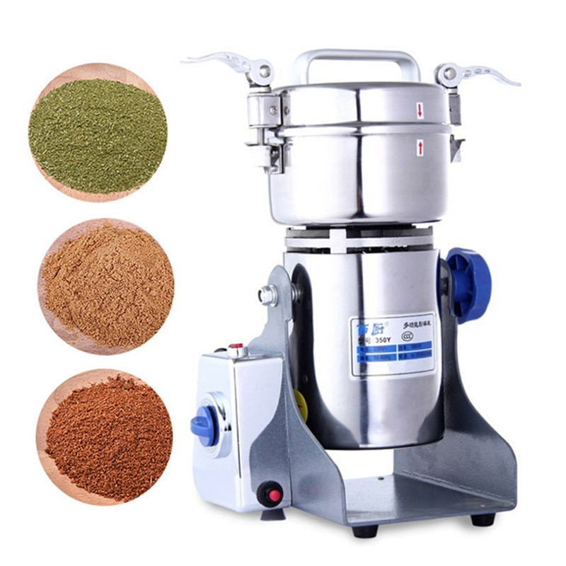 800g Coffee Dry Food Grinder Mill Grinding Machine gristmill home medicine flour powder crusher Grains