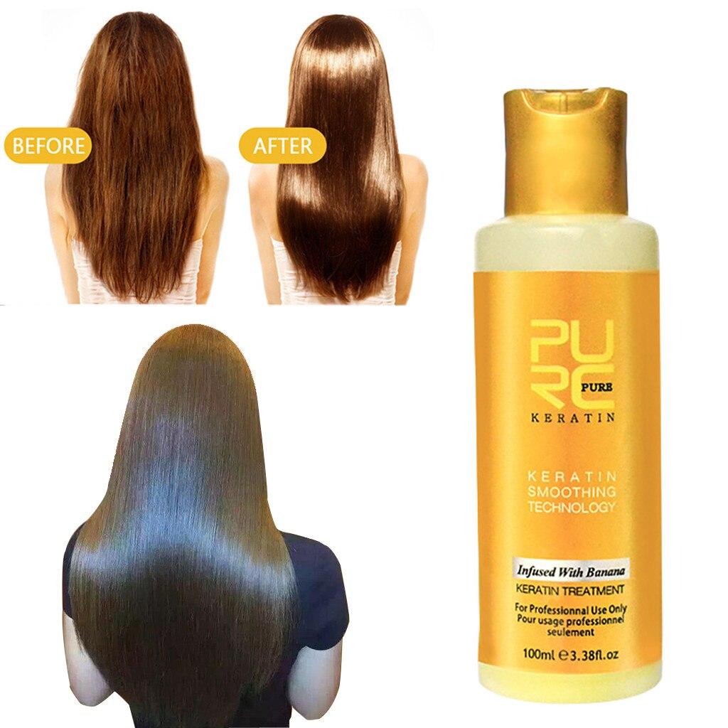 Mascarilla para el tratamiento del cabello, 100ML, proteína intensiva de colágeno de queratina para alisar el cabello dañado en seco
