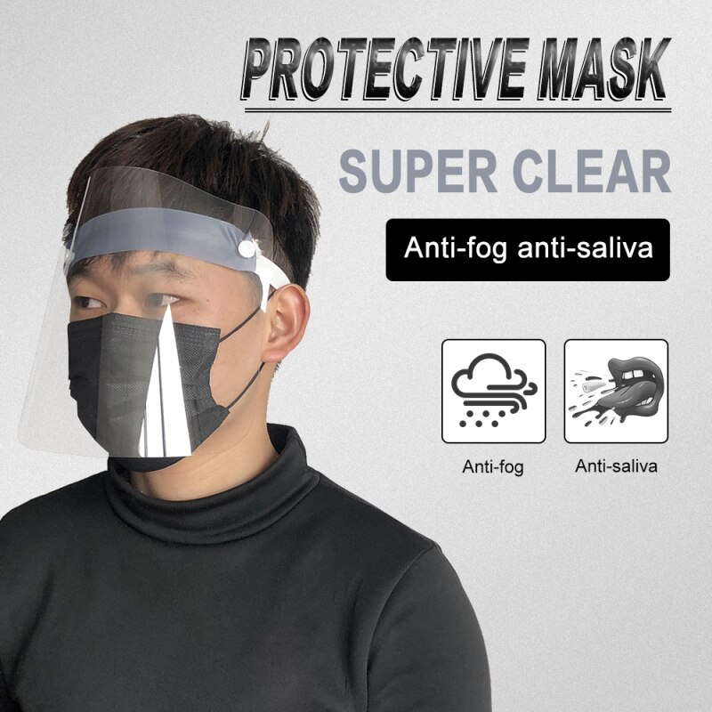 5 шт., защита лица, Sheild Visiere, Cocina, аксессуары для лица, sheild, пластиковая защита для лица, прозрачная, visiera protettiva viso