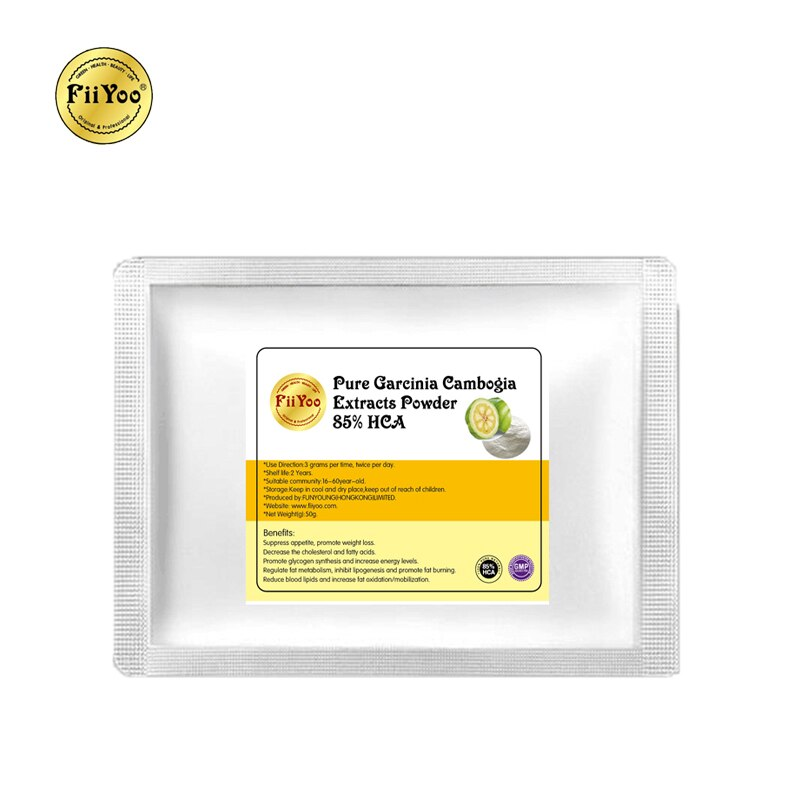 FiiYoo Pure Garcinia Cambogia extract powder 85% HCA weight loss fast burn fat quickly slimming