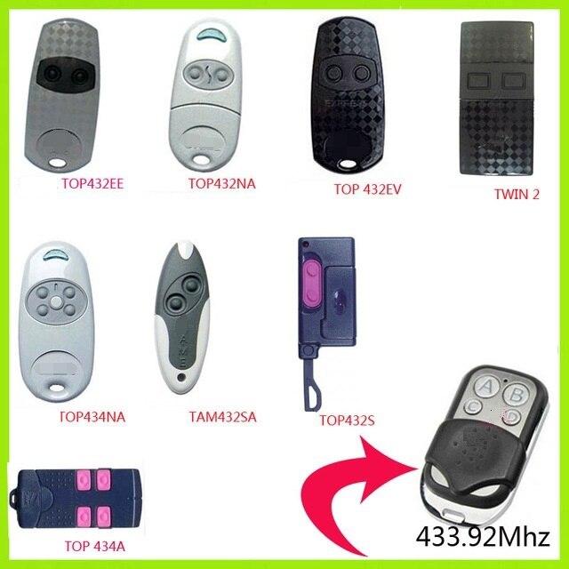 CAME TOP432NA-télécommande de porte   CAME TOP434NA, 433.92MHz, télécommande
