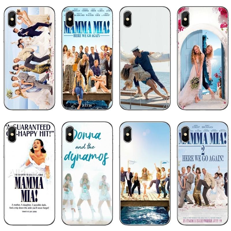 Teléfono caso Mamma Mia 2 para Sony Xperia Z5 C6 L2 XA1 XA2 XZ1 XZ2 compacto Premium LG G5 G6 G7 Q6 Q7 Q8 Q9 V30
